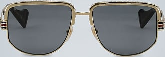 Gucci Sonnenbrille mit Webstreifen
