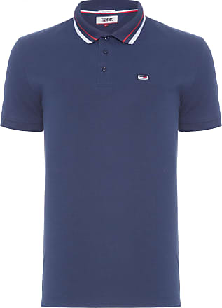 Tommy Jeans POLO MASCULINA CLASSIC STRETCH - AZUL
