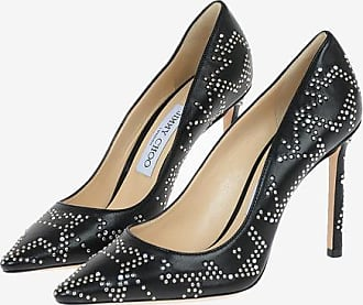 Jimmy Choo London Studded Leather ROMY Pumps 10 cm size 36,5