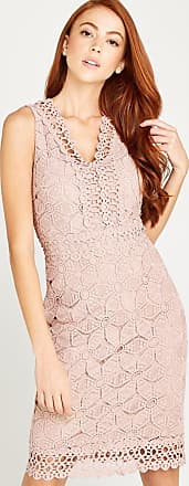 Apricot Etuikleid »Lace With Crochet Detail Dress«