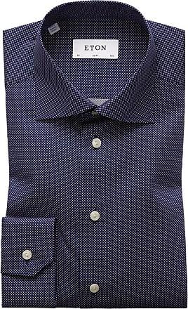 Eton Elegantes Oberhemd, Slim Fit von Eton in Marine für Herren
