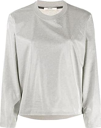 Zilver Aqua crew-neck sweatshirt - Grey