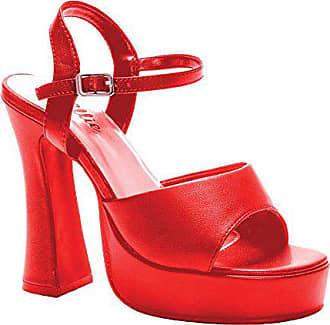 Ellie Shoes Sandalen mit hohem Absatz 12,7 cm, Rot - rot - Größe 024cfcc47d