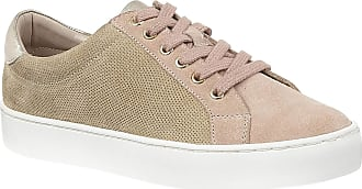 Lotus Natural & Pink Leather Amsterdam Lace-Up Trainers 7 UK