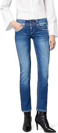 Pepe Jeans London Womens Gen PL201157D45 Straight Jeans, Blue (Denim), W27/L32 (Manufacturer Size: W27/L32)