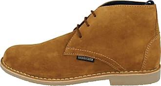 Lambretta Desert Boots Carnaby Street Leather Mens Retro UK 7-12 (UK 11, New Cognac)