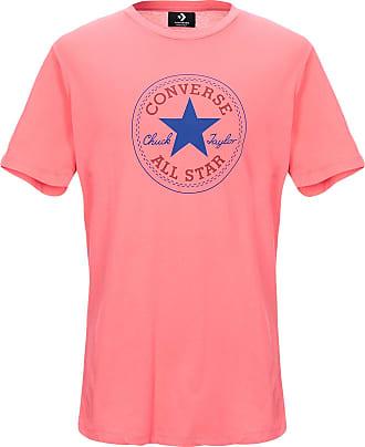 converse rouge tee shirt