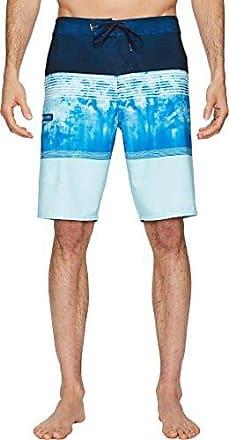 29 ONeill Mens 21 Inch Outseam Ultrasuede Swim Boardshort Dust Blue//Palmer