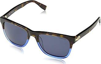 Trussardi Str007, Lunettes De Soleil Homme, Bleu (Shiny Havana Turquoise), 3b5e6eaceff8