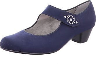 fc68d2e31ae Jenny 22-53601H Womens Blue Synthetic Pumps