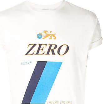 Ground-Zero Camiseta com estampa Zero - Branco