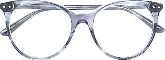 Bottega Veneta Armação de óculos gatinho - Azul