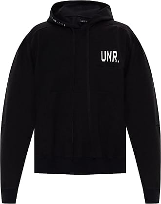 Unravel Hooded Sweatshirt Mens Black