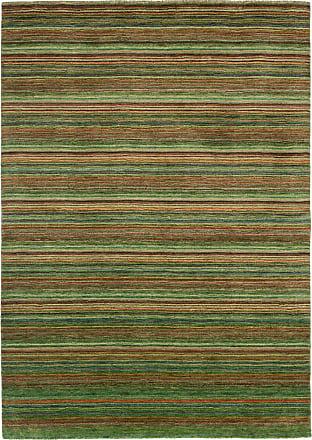 Nain Trading 242x174 Oriental Rug Loom Gabbeh Lori Brown/Dark Green (Wool, Indien, Handwork)