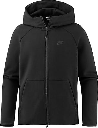 Nike NSW TECH FLEECE Kapuzenjacke Herren in black-black, Größe XL