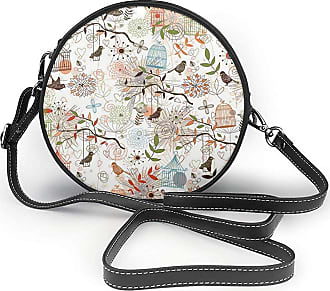 Turfed Fresh Design Is Multifarious Round Crossbody Bag Women PU Shoulder Bag Circle Purse Messenger Bag With Adjustable Straps