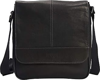 Kenneth Cole Reaction Kenneth Cole Reaction Colombian Leather Single Compartment Flapover Tablet Case, Black
