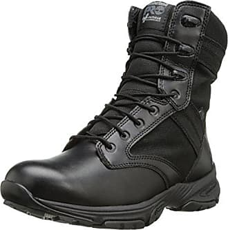 Timberland PRO Mens 8 Inch Valor Soft Toe WP Side-Zip Duty Boot,Black Smooth with Textile,12 M US