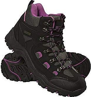 Reisen Phylon-Mittelsohle Mountain Warehouse Intrepid Wasserfeste Damen-Softshell-Wanderstiefel Netzfutter-Schuhe Campen Damenschuhe zum Wandern Gummilaufsohle