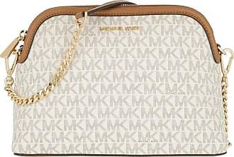 Details zu Neu Michael Kors Astor Vanille Weiß Leder Kette Umhänge Schulter Handtasche