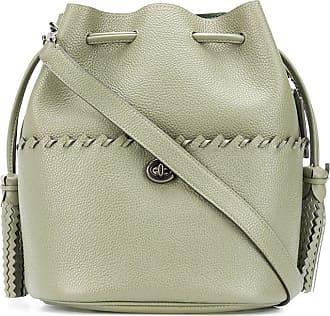Coach Lora whipstitch-embellished bucket bag - Verde