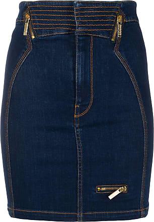 Versace Jeans Couture Saia jeans slim - Azul