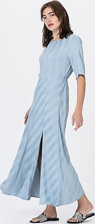 Minimum Coruna Kleid dusty blue