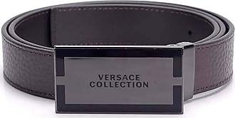 Versace Collection VERSACE V91223S Leather belt Men BROWN V239 110