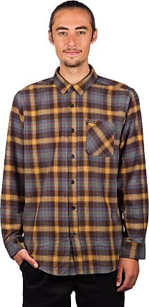 Volcom Caden Plaid Shirt espresso