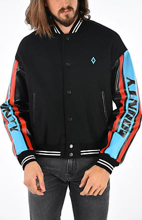 Marcelo Burlon Jacket with Leather Sleeves size L