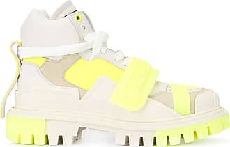 Dolce & Gabbana Sneakers in Colour-Block-Optik - Weiß