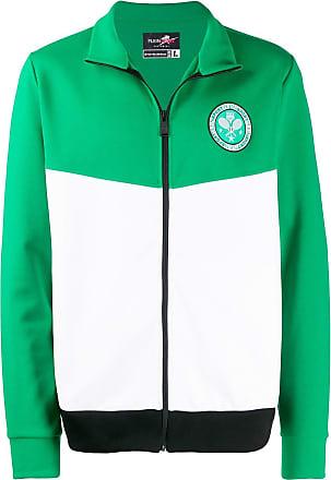 Plein Sport Jaqueta Tennis color block - Verde