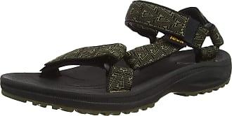 Teva Winsted, Men Open Toe Sandals, Black (Bamboo Dark Olive Bdolv), 10 UK (44.5 EU)