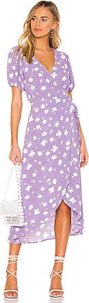 Sanctuary Meadow Wrap Dress in Lavender