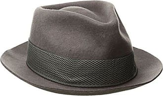 Goorin Brothers Mens Griffin Fedora, Gray, Small