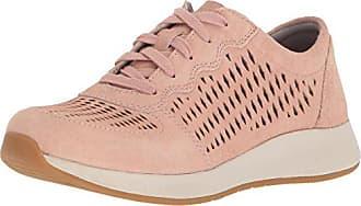 Dansko Womens Charlie Sneaker, Rose Suede, 36 M EU (5.5-6 US)