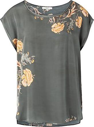 YaYa T-Shirt mit bläulichem grauem Aufdruck - EU38 UK10