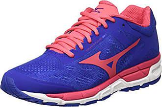 outlet store 837fb 20895 Mizuno Synchro MX W, Chaussures de Running Femme, Multicolore  (Deepultramarine paradisepink