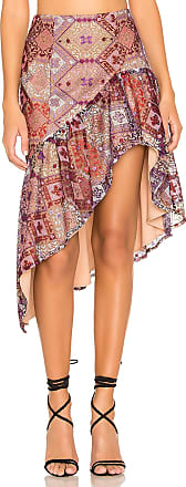 X by NBD Hailey Skirt in Pink