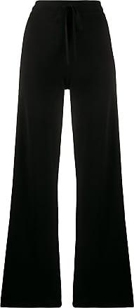 Pringle Of Scotland Calça pantalona cintura alta - Preto