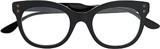 Bottega Veneta Armação de óculos gatinho - Preto