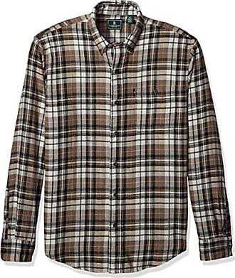 9c41f05c6d G.H. Bass & Co. Mens Fireside Flannels Long Sleeve Button Down Shirt,  Bungee Cord