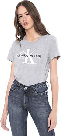 Calvin Klein Jeans Camiseta Calvin Klein Jeans Logo Cinza