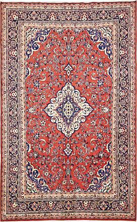 Nain Trading 341x212 Tappeto Saruk Grigio/Marrone Scuro (Lana, Persia/Iran, Annodato a mano)