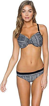 0a599d038a Swim Systems Womens Crossroads D and Dd Bikini Top Swimsuit with Underwire,  Midnight Safari,