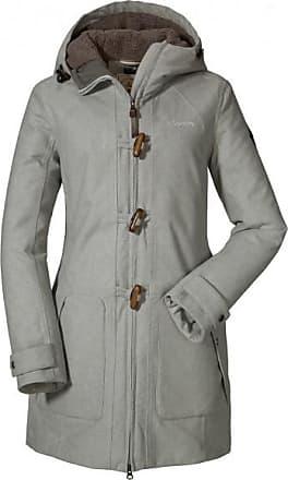 Schöffel Womens Duffle Coat Bregenz 1 Cappotto Donna | grigio
