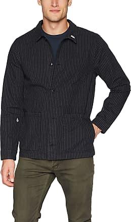 Volcom Mens Noa Dean Noise Workwear Jacket Cotton Lightweight, Black, Large