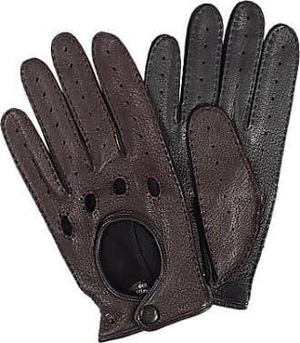 f0ca979c30238e Roeckl Herren Autofahrer-Handschuhe, Hirschnappa, mocca braun
