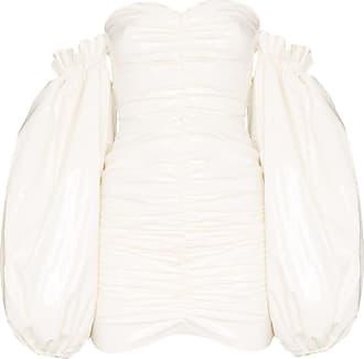 Rotate Vestido ombro a ombro Phoebe - Branco