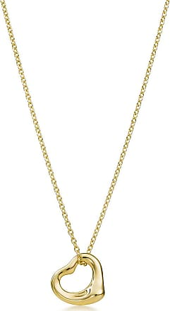 Tiffany & Co. Elsa Peretti Open Heart pendant in 18k gold More sizes available - Size 11 mm